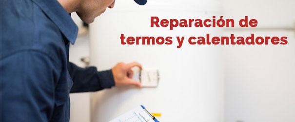 reparacion urgente de termos