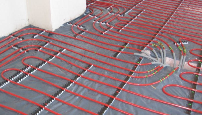 Instalación de suelo radiante en vivienda de Madrid