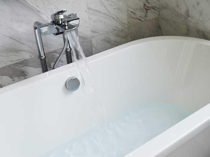 Émail de bain en parfait état