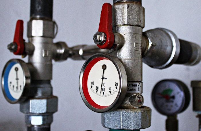 Problema con las válvulas de la caldera de la calefacción