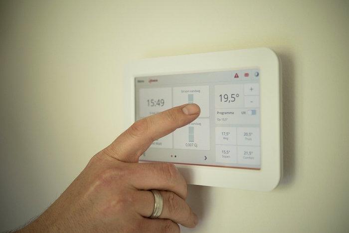Avería en el termostato electrónico de la calefacción