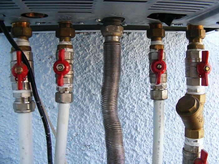 Problema de presión de la caldera de la calefacción