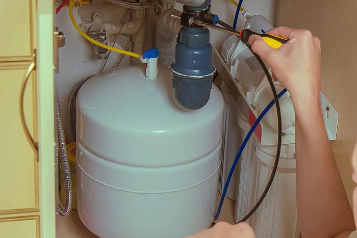 Instalación de un sistema de ósmosis inversa en casa